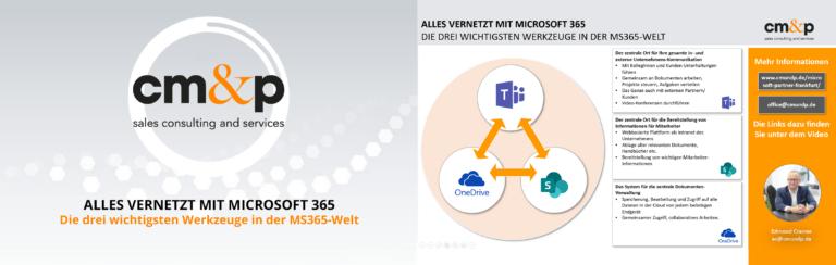 Alles vernetzt mit Microsoft 365
